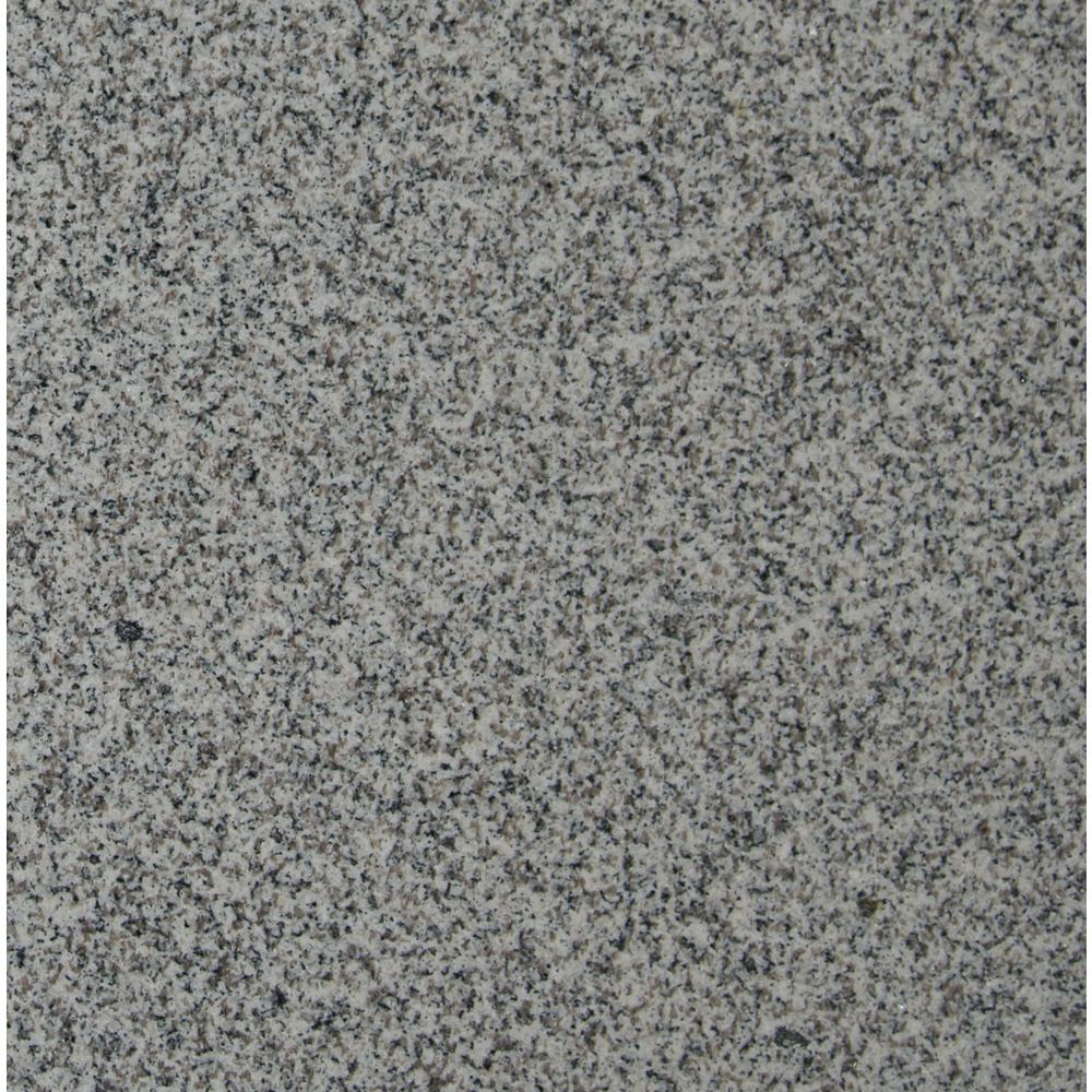 White granite floor tiles sparkle