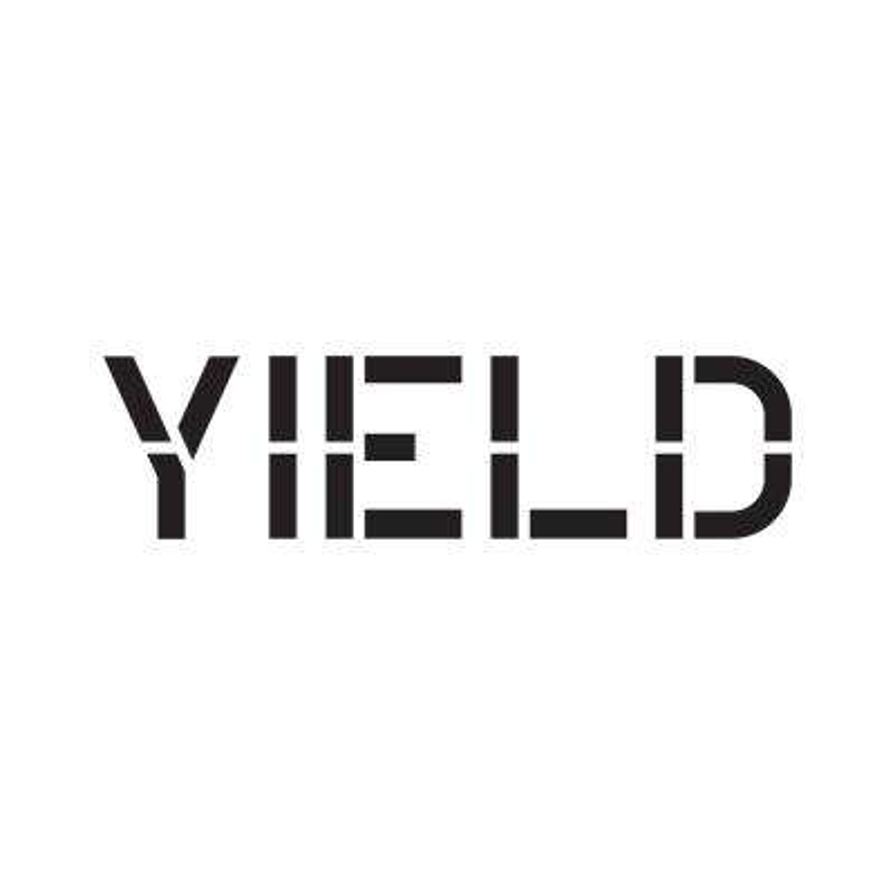 24 in. Yield Stencil