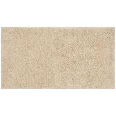 Queen Cotton Natural 24 In X 40 Washable Bathroom Accent Rug