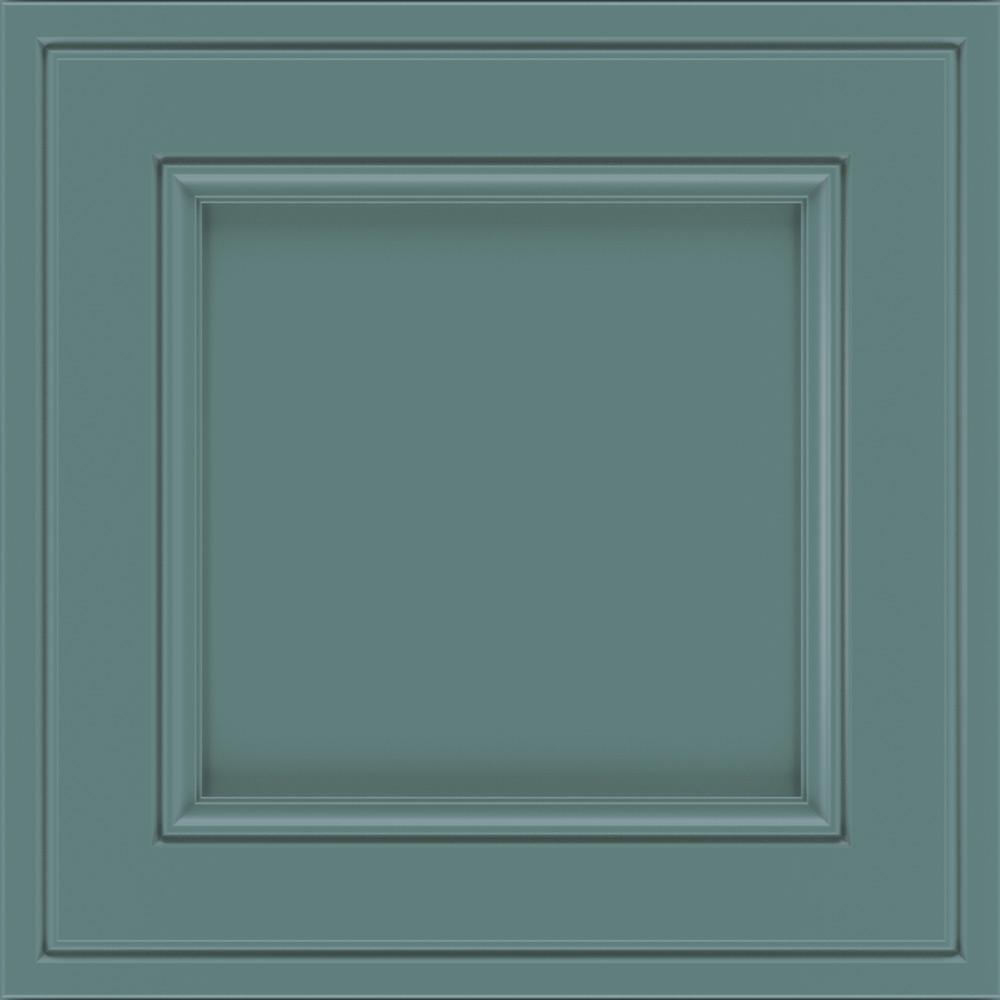 Thomasville Classic 14.5x14.5 in. Cabinet Door Sample in Blakely Maple Bali