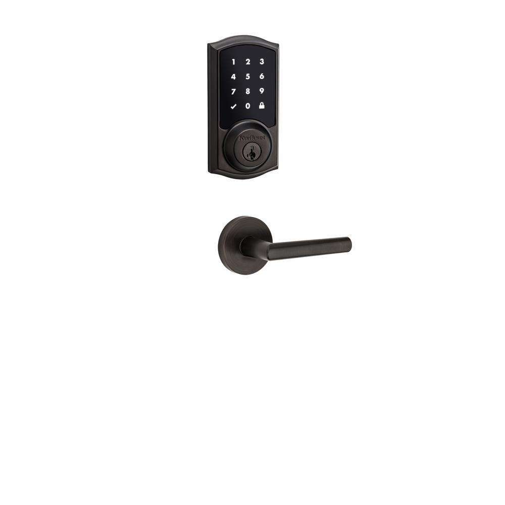 Kwikset Z Wave Smartcode 916 Touchscreen Venetian Bronze