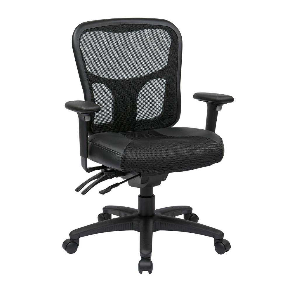 Black High Back Manager Office Chair