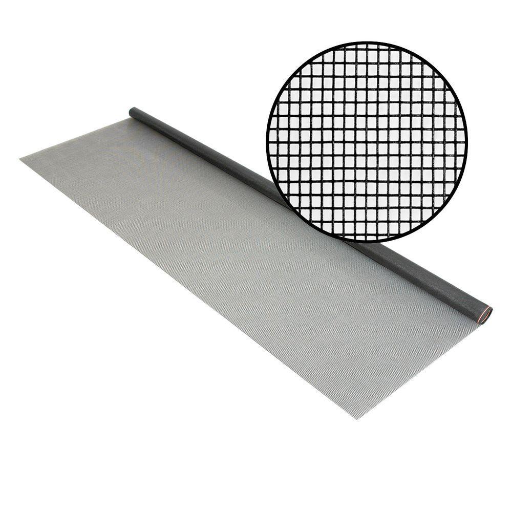 Phifer 60 in. x 96 in. Charcoal Fiberglass Screen