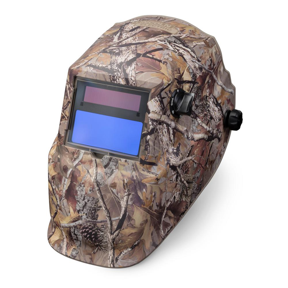 Lincoln Electric Camo VAR 9-13 with Grind ADF Welding Helmet