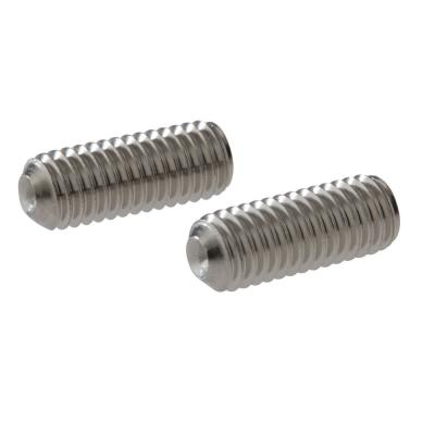 Pair of Tub and Shower Handle Set Screws in Chrome