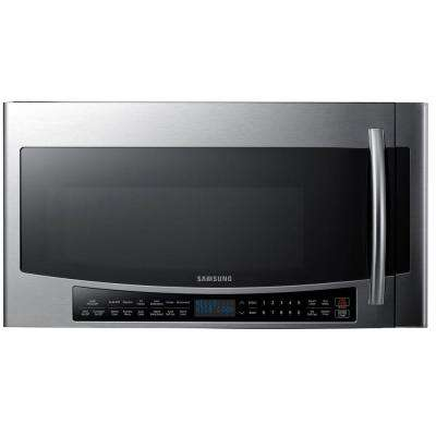 30 in. 1.7 cu. ft. Over the Range Convection Microwave in Stainless Steel with Sensor Cooking