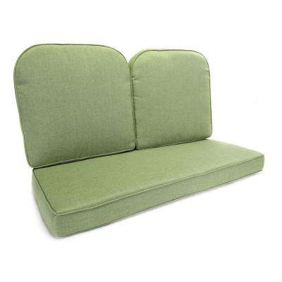 Fall River Moss Replacement Outdoor Glider Cushion