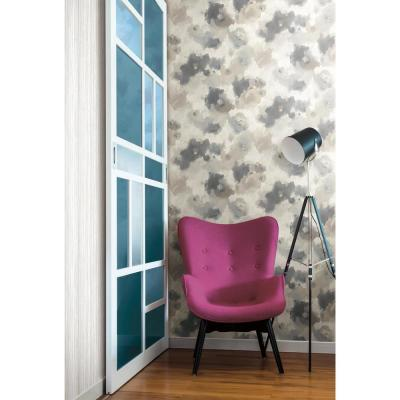 Impressionist Floral Paper Strippable Wallpaper (Covers 56 sq. ft.)