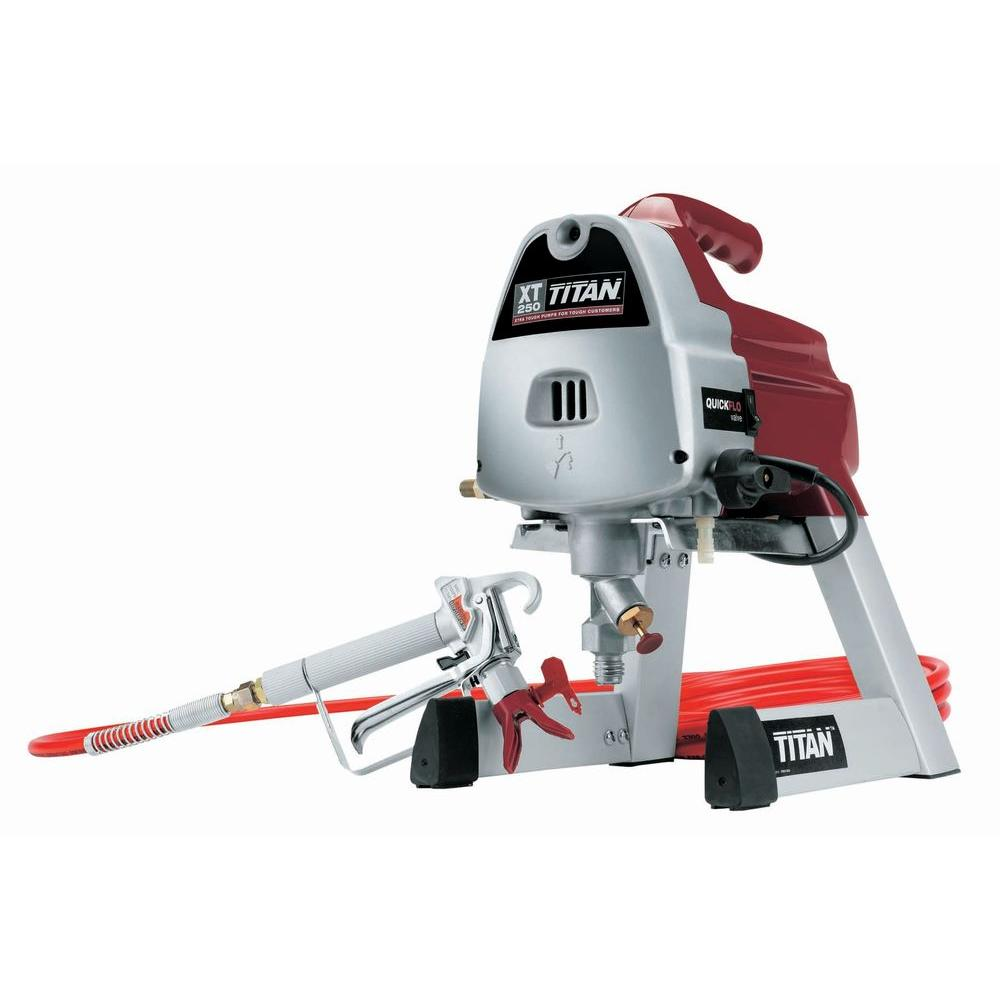 Airless Paint Spray Gun Reviews Part - 49: TITAN XT250 Paint Sprayer
