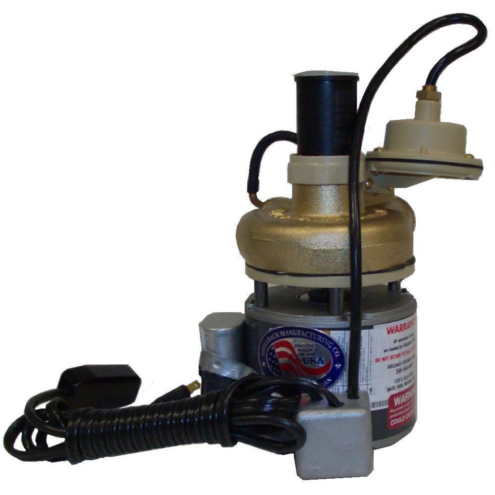 Shellback 1/8 HP Laundry Tray Pump