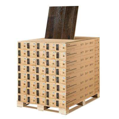 Hickory Trestles 3/8 in. T x 6-1/2 in. W x Varying Length Click Lock Engineered Hardwood Flooring (945.6 sq. ft./pallet)