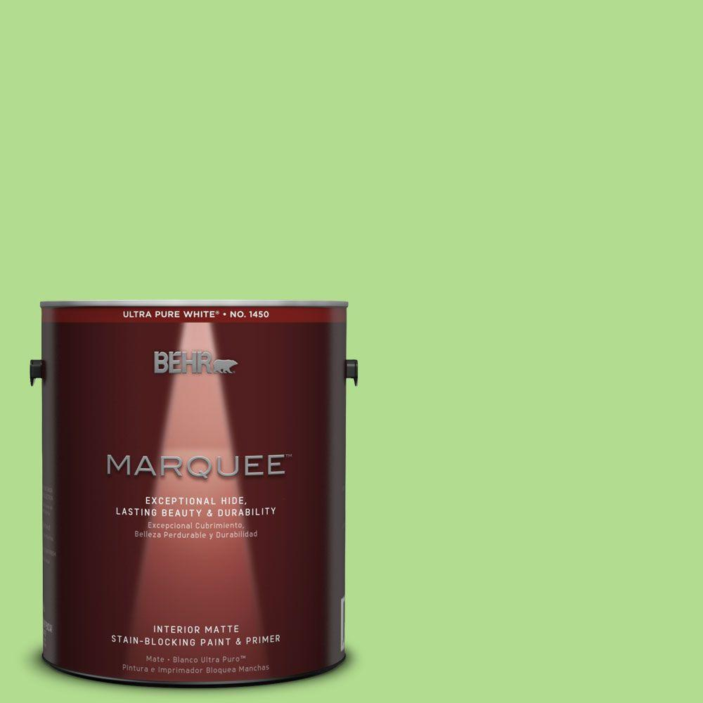 BEHR MARQUEE 1 gal. #MQ4-46 Early Spring One-Coat Hide Matte Interior Paint