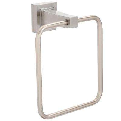 Adelyn Towel Ring in Brushed Nickel