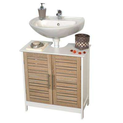 Stockholm 23.60 in. W x 11.80 in. D x 27.10 in. H Freestanding Bath Vanity Cabinet Only Non Pedestal in MDF