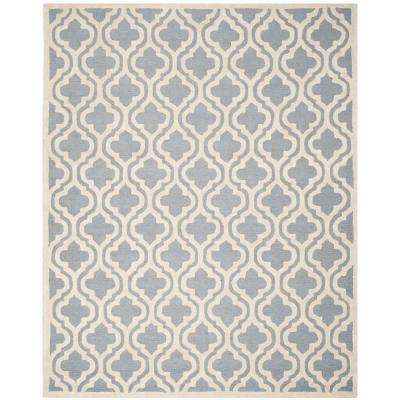 Cambridge Silver/Ivory 11 ft. x 15 ft. Area Rug