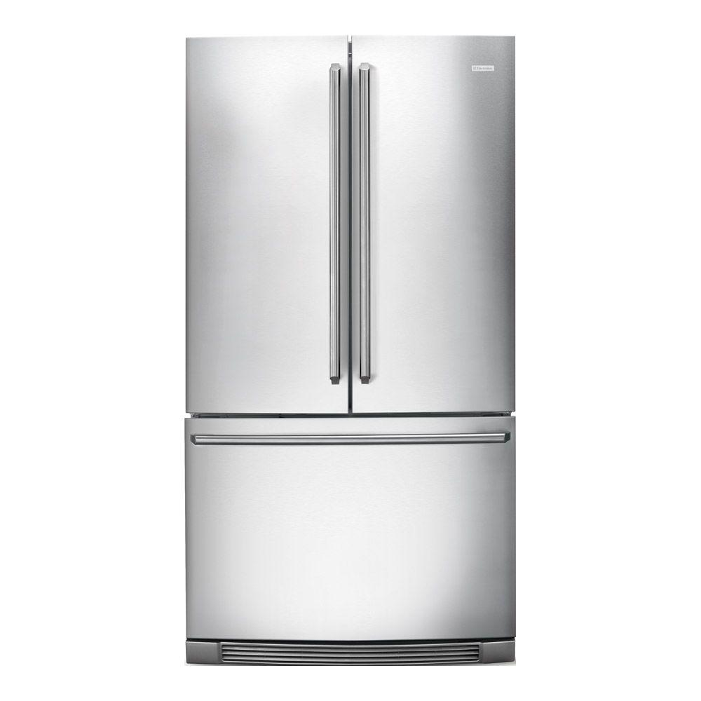 Electrolux IQ-Touch 22.37 cu. ft. French Door Refrigerator in Stainless Steel, Counter Depth