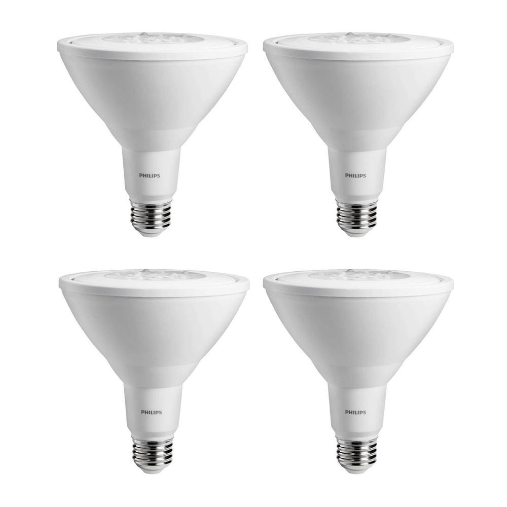 Daylight Flood Light Bulbs: Philips 90-Watt Equivalent PAR38 Ambient LED Flood Light