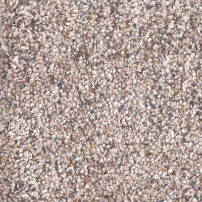 Carpet Sample - Archipelago II - Color Neptune Twist 8 in. x 8 in.