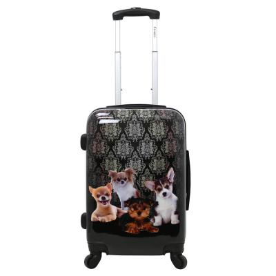 Doggies 20 in. Hardside Carry-On Luggage