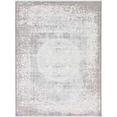 New Classical Olwen Light Blue 10' 0 x 13' 0 Area Rug