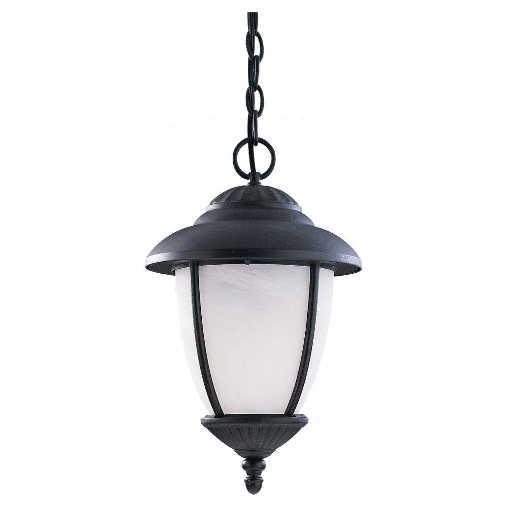 Sea Gull Lights: Sea Gull Lighting Yorktown 1-Light Outdoor Hanging Forged