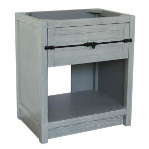 Plantation II 30 in. W x 21.5 in. D Bath Vanity Cabinet Only in Gray