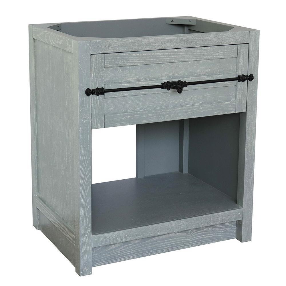 Plantation II 30 in. W x 21.5 in. D Bath Vanity Cabinet Only in Gray