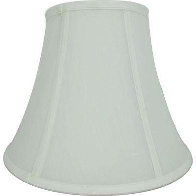 Mix and Match Ivory and White Round Bell Table Lamp Shade
