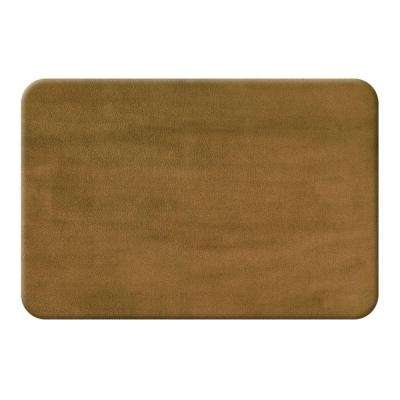 Mocha 20 in. x 32 in. Bath Mat