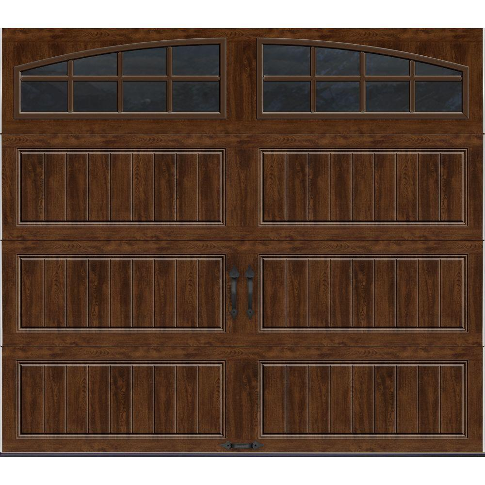 Clopay gallery collection 8 ft x 7 ft 18 4 r value for Insulated garage doors reviews