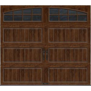 Clopay gallery collection 8 ft x 7 ft 18 4 r value for Buy clopay garage doors online