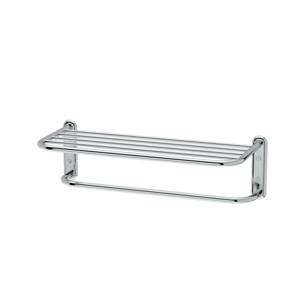 Gatco Hotel Style Towel Rack In Chrome 1537 The Home Depot