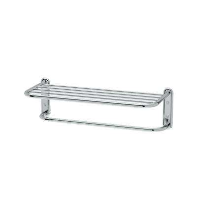 Hotel Style Towel Rack in Chrome