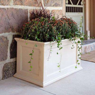 Fairfield 36 in. x 20 in. Clay Plastic Planter