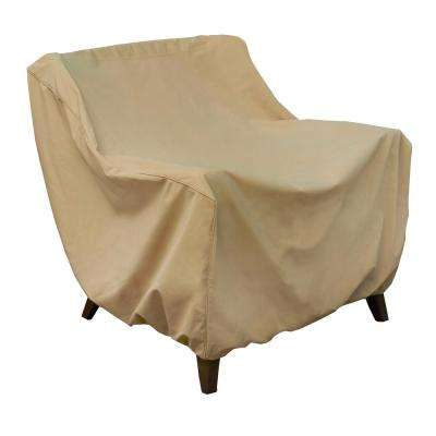 Low Back Lounge Chair Cover