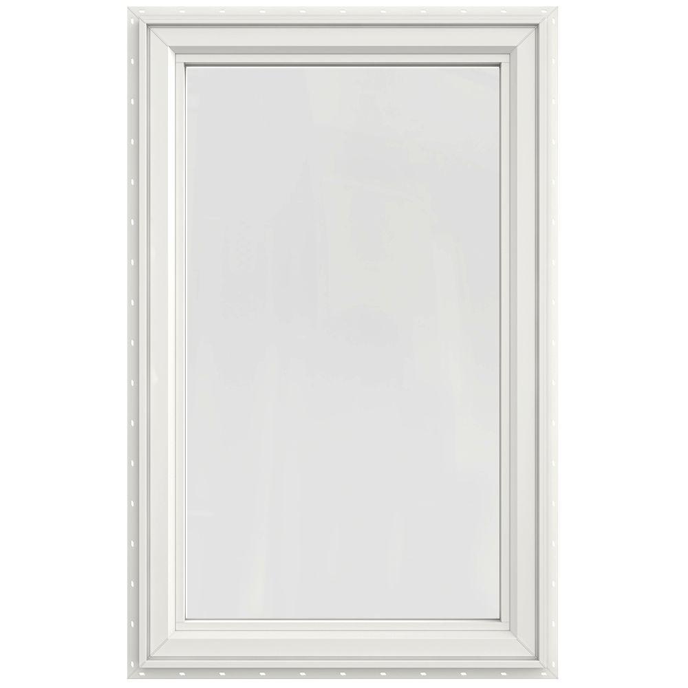 JELD-WEN 30 x 47.5 V4500 Left-Hand Casement Vinyl Window