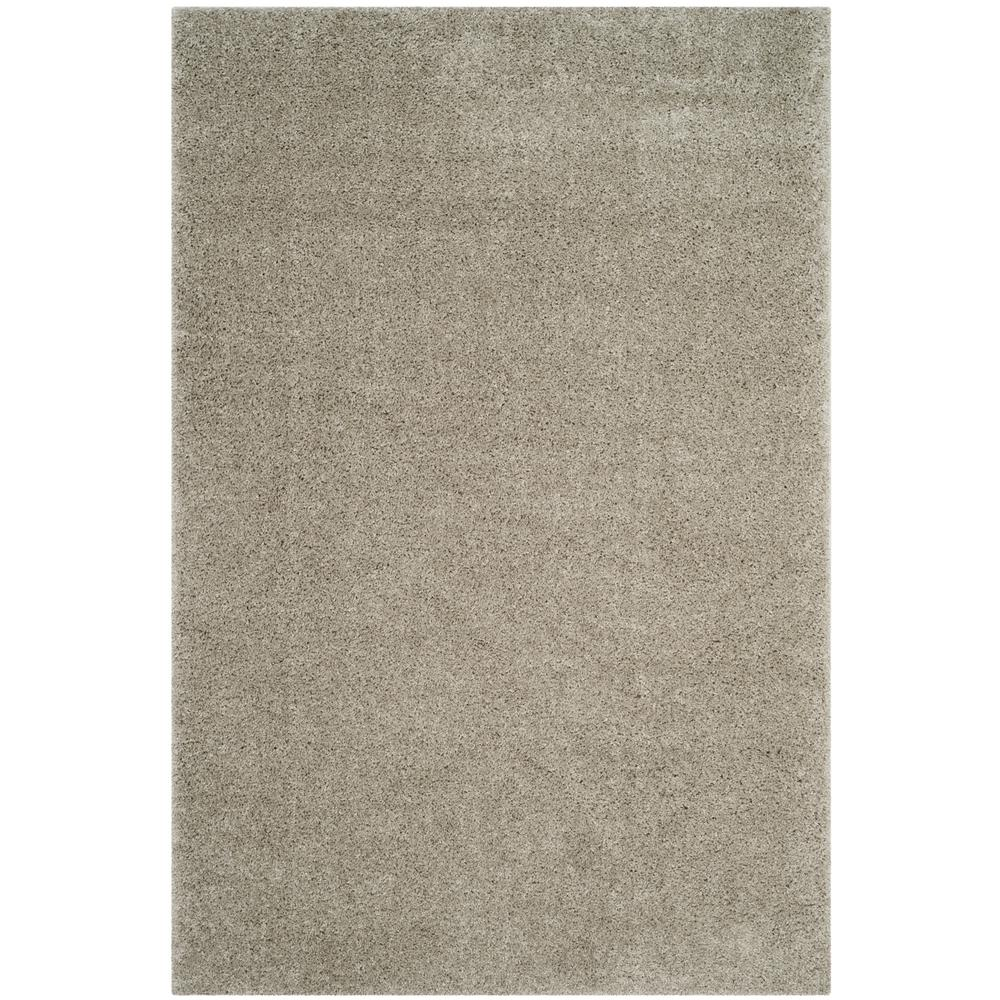 Arizona Shag Silver 3 ft. x 5 ft. Area Rug