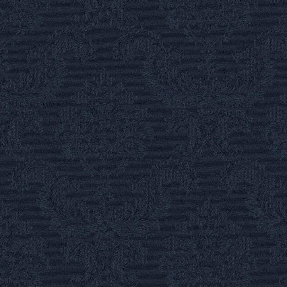 Damask Emboss Vinyl Peelable Roll Wallpaper (Covers 56 sq. ft.)