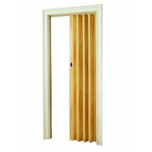 LTL Home Products 32 In. X 80 Fusion Vinyl Light Wood Accordion Door-PRFUS3280LW - The Depot Doors O