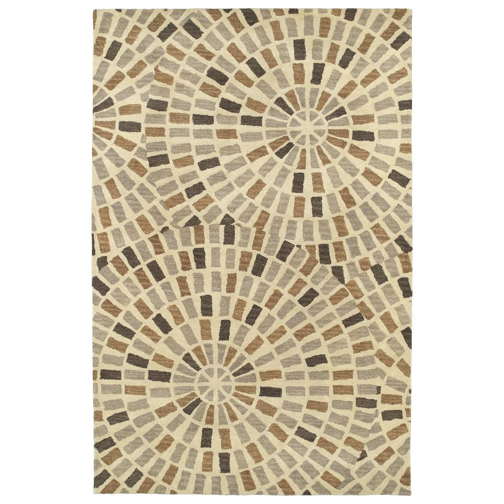 Art Tiles Brown 2 ft. x 3 ft. Area Rug