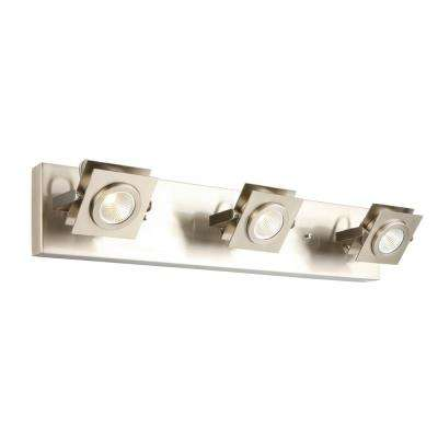 Otero 3-Light Brushed Nickel Directional Track Light