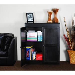 Concepts In Wood Multi-Use Storage Pantry in Espresso-KT613A-3060 ...