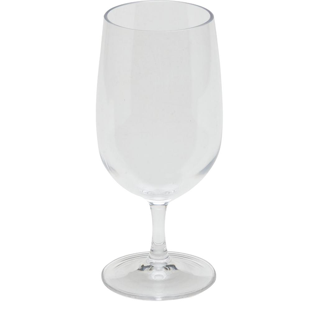 Alibi 15 oz. Water Goblet Glass in Clear (Set of 24)