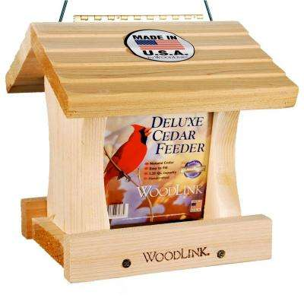 Deluxe Cedar Bird Feeder