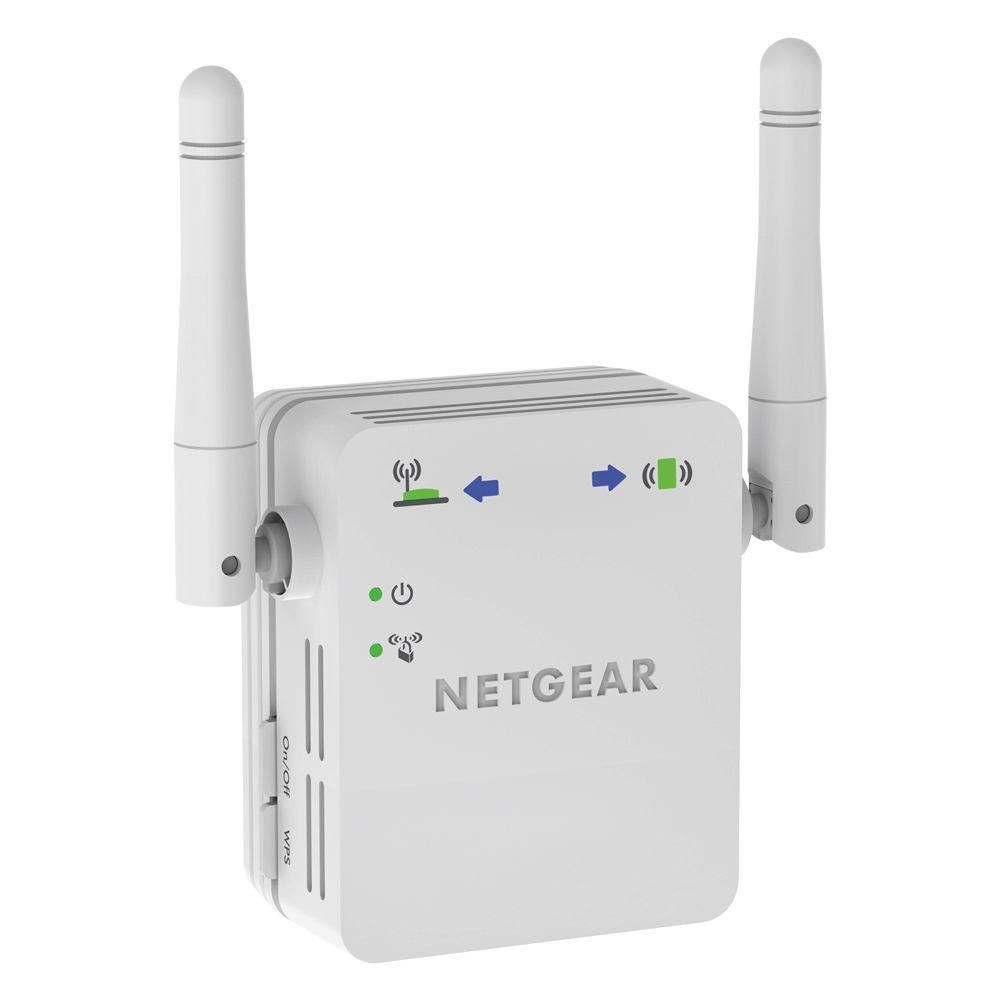 Netgear Universal Wi-Fi Range Extender The Netgear Universal Wi-Fi Range Extender effectively doubles the operating distance of your entire wireless network and conveniently avoids additional need for power cables or device clutter on your office desk or home theater. The WN3000RP extends your wireless network to include areas outside the range of your existing wireless router. Smart LED Indicators - Finds best location for optimal Wi-Fi coverage.