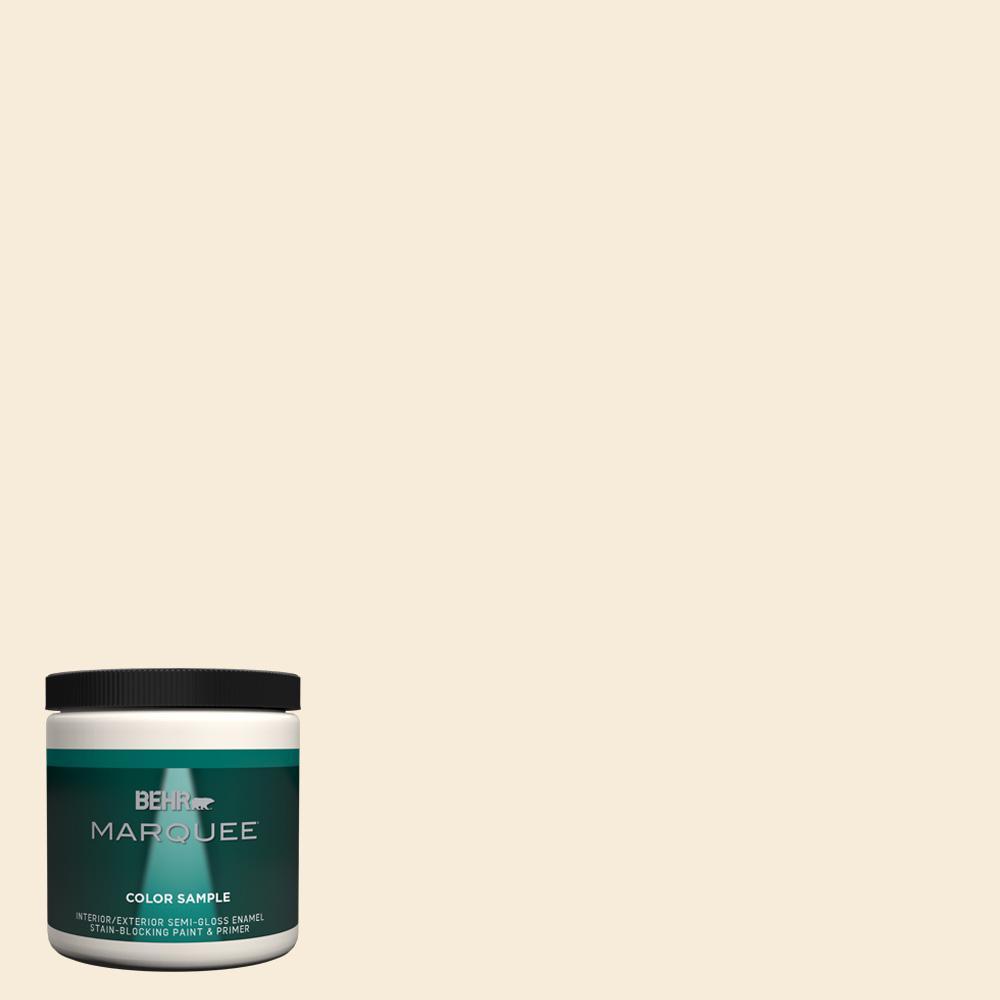 70 Linen White Semi Gloss Enamel Interior Exterior Paint And Primer In One Sample