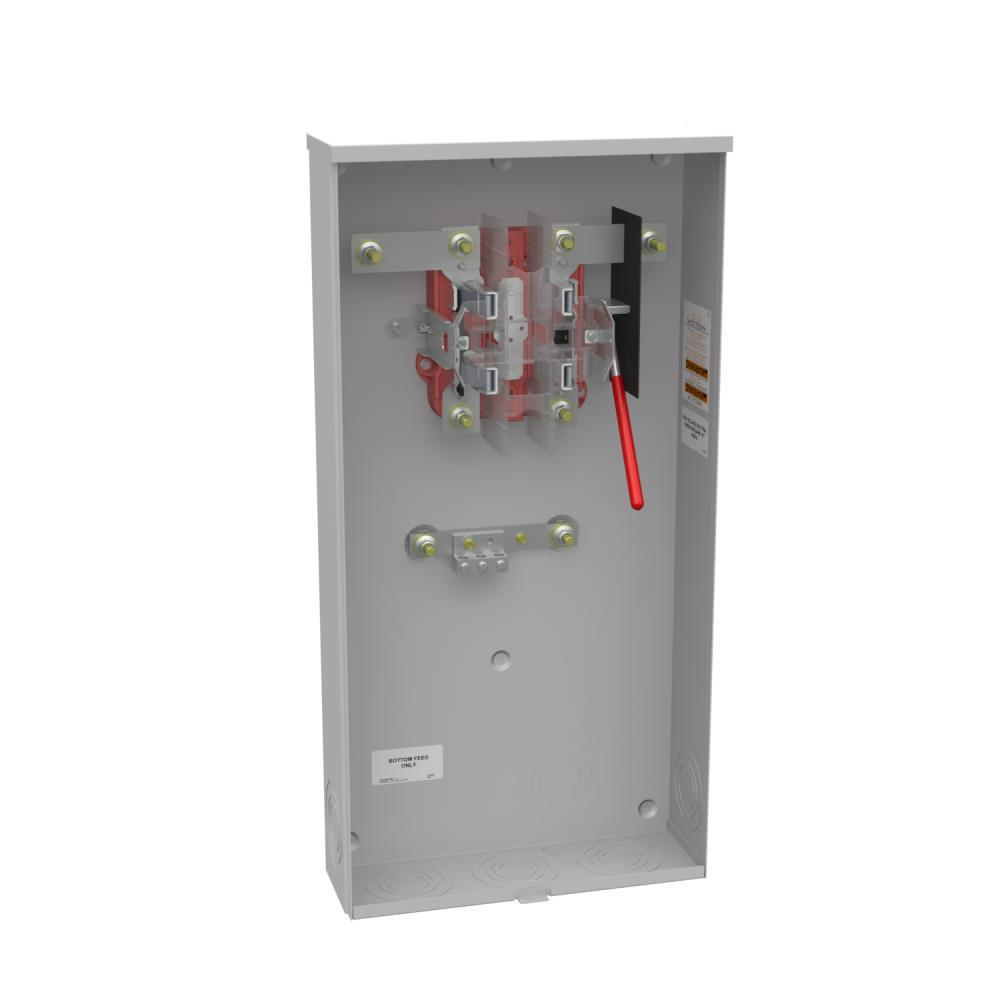 milbank 320 amp 5 terminal ringless underground meter socket r1129 o rh homedepot com