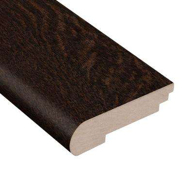 Wire Brushed Oak Sweeney 3/8 in. Thick x 3-1/2 in. Wide x 78 in. Length Hardwood Stair Nose Molding