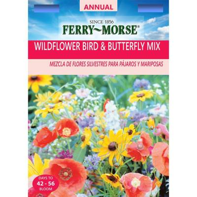 Wildflower Bird and Butterfly Mix Seed