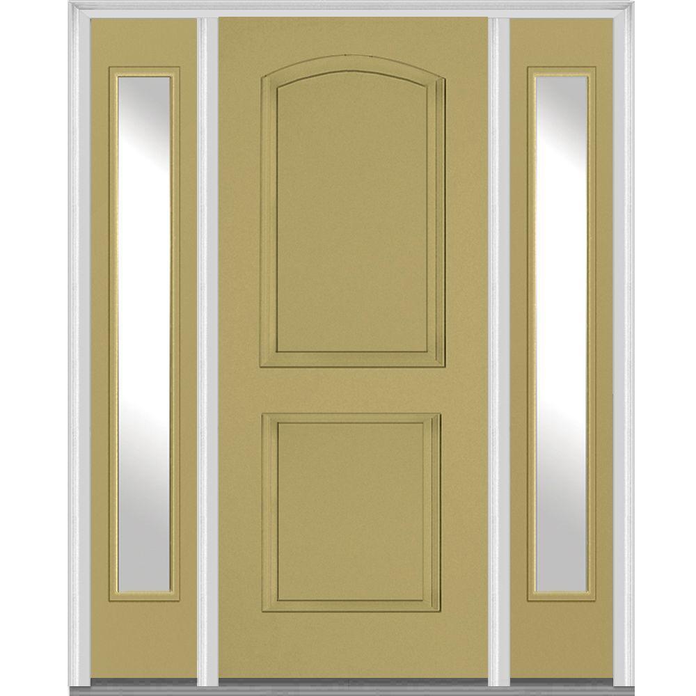 Bon MMI Door 60 In. X 80 In. Right Hand Inswing 2 Panel Arch